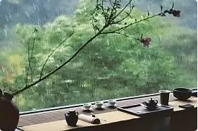 中国风,有茶、有诗,有远方